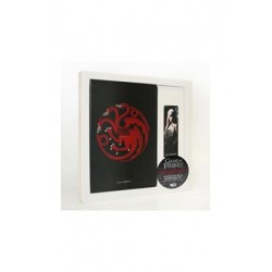 (NEX) TARGARYEN SET LIBRETA Y PUNTO DE LIBRO GAME OF THRONES
