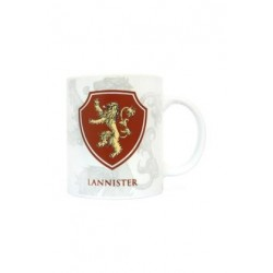 (NEX) ESCUDO LANNISTER TAZA CERAMICA GAME OF THRONES