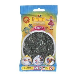 Hama midi verde oliva 1000 piezas